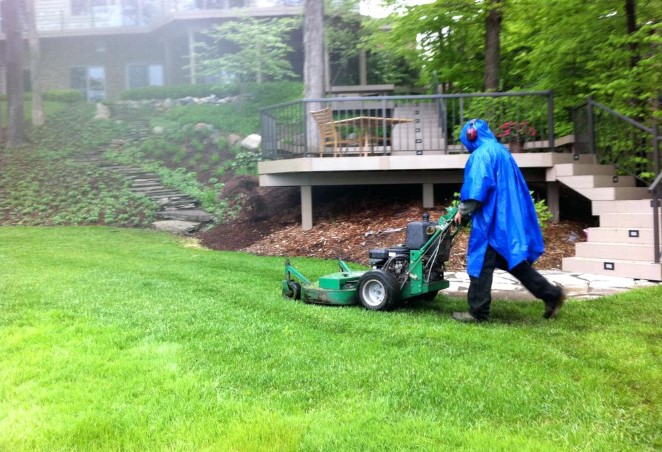 What Is The Best Way To Mow After It Rains A Lot?